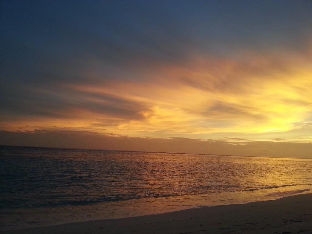 Закат на Тодду