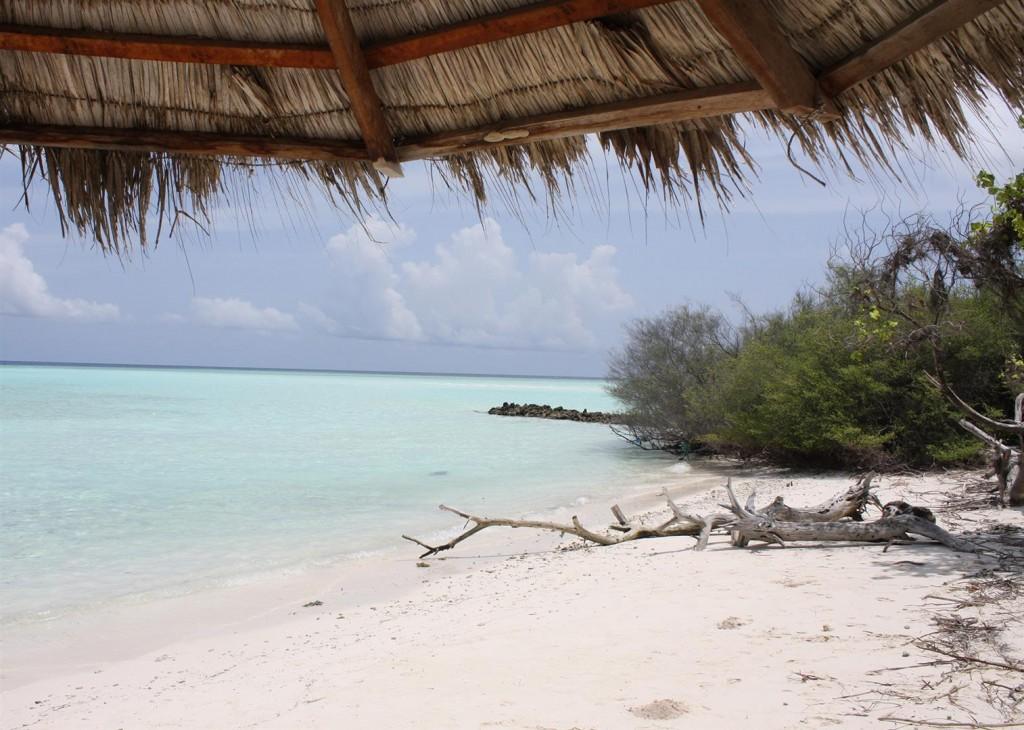 Вот так выглядит пляж