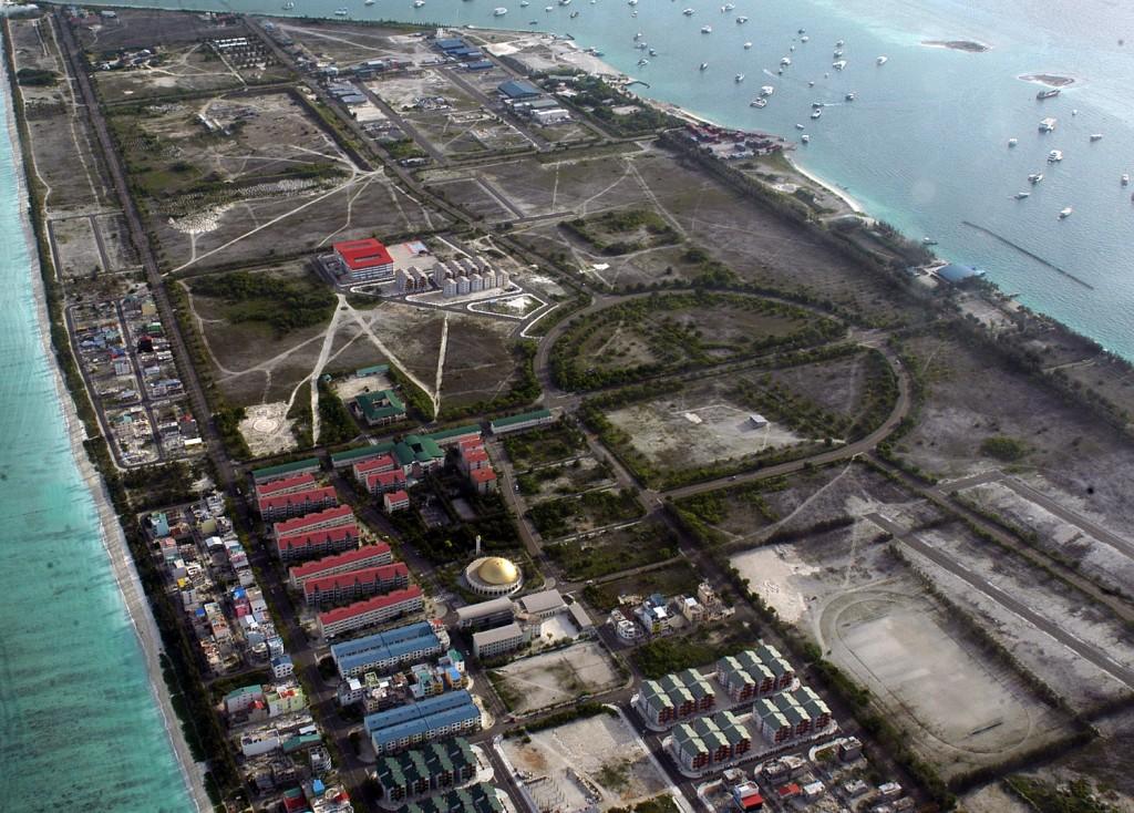 На острове не прекращается строительство