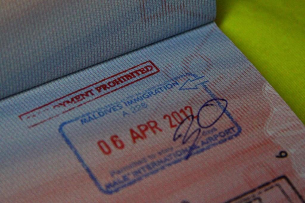 Продление визы на Мальдивы
