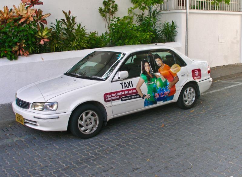 Такси на Мале