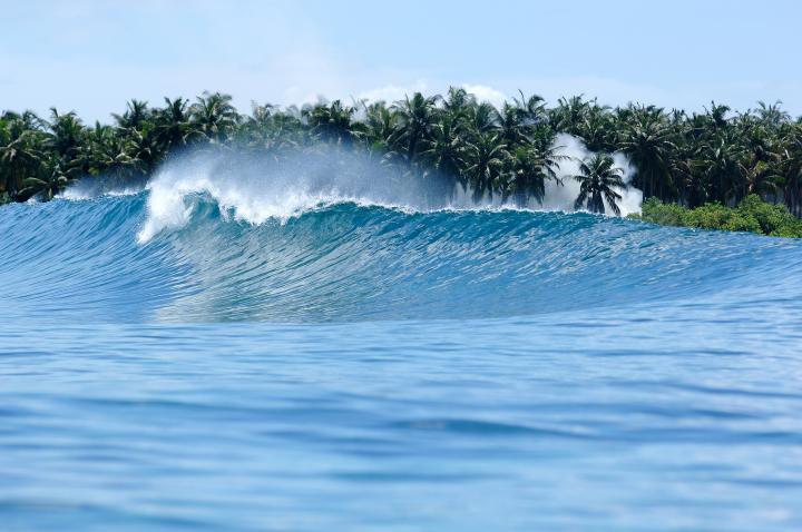 Гурайдо - хорошее место для сёрфинга
