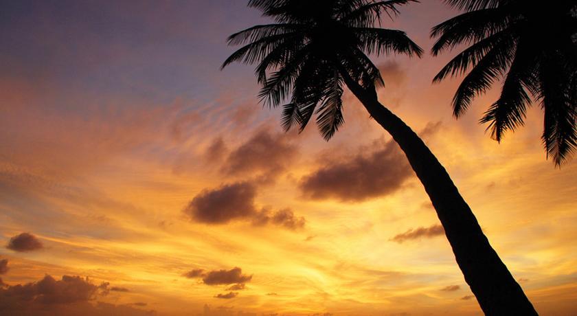 Как и везде на Мальдивах на Thulusdhoo отличные закаты
