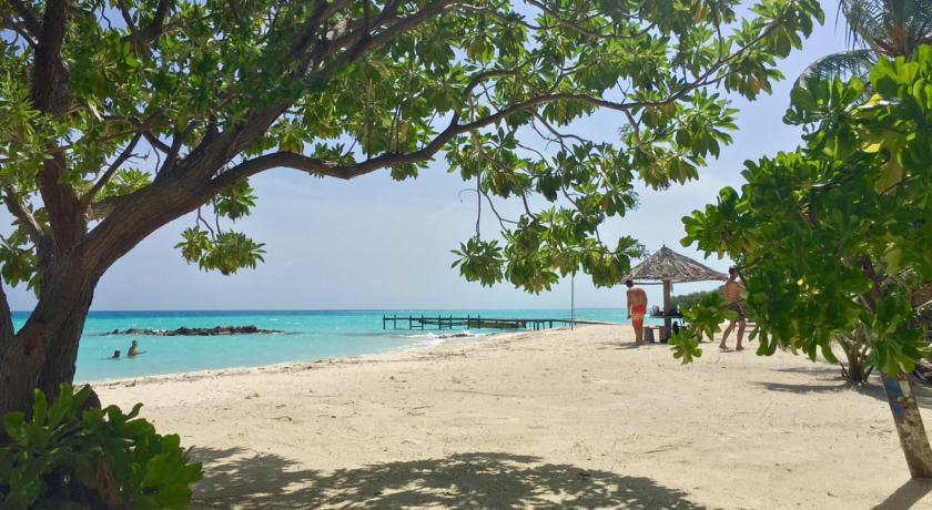 Пляж на Thulusdhoo - нормальный