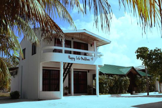 Гостевой дом - это хороший вариант размещение на Мальдивах