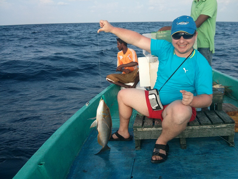 Говорят на острове отличная рыбалка